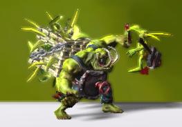 Ork - Goblin Thrower 00
